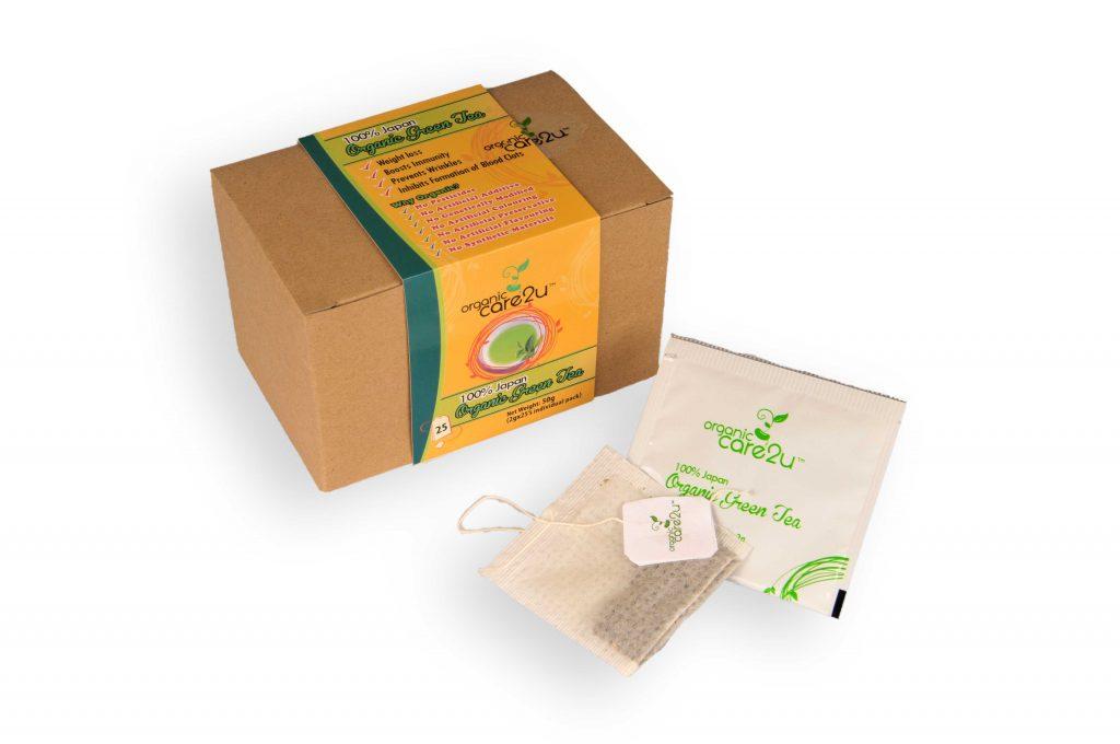 Product -Care2u Organic Green Tea