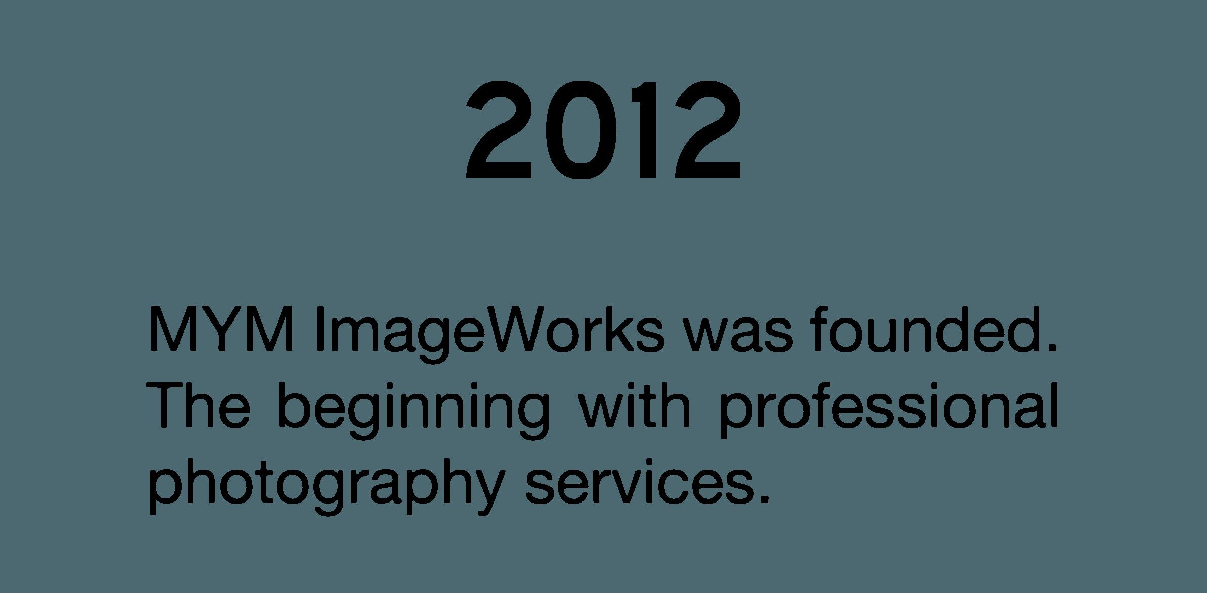 MYM Imageworks 2012