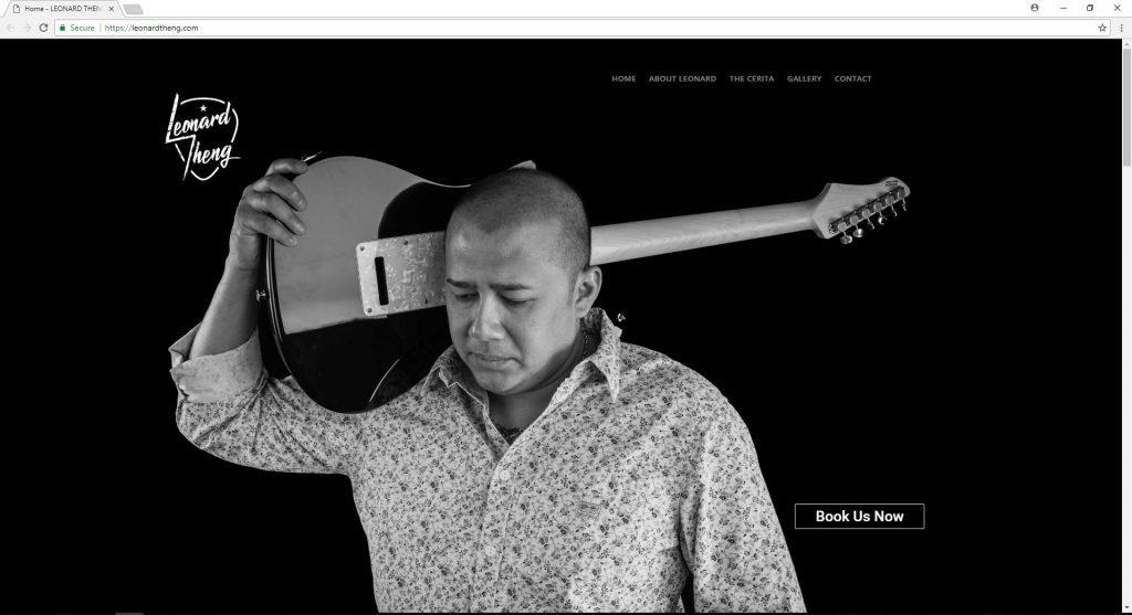 Leonard Theng website