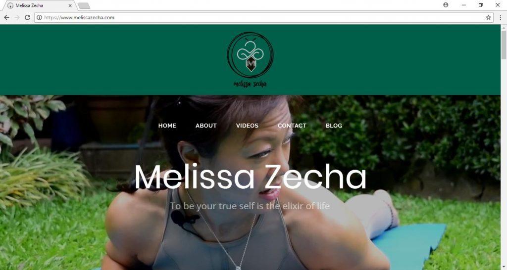 mellisa Zheca website